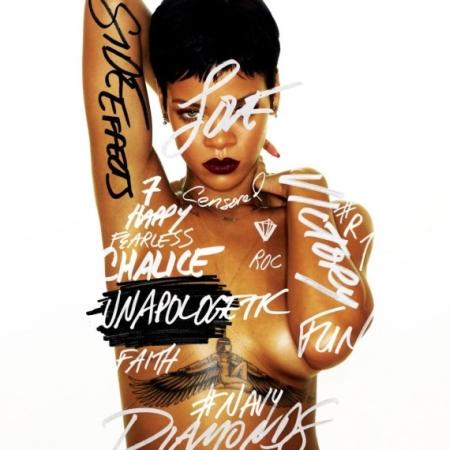Rihanna Unapologetic Cover