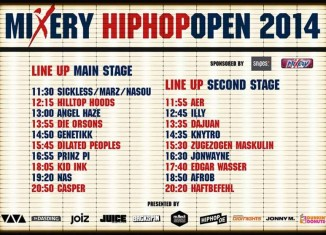 hiphop open 2014 running order