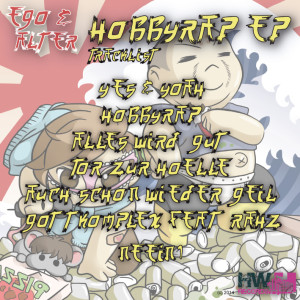 Ego&Alter - Hobbyrap EP BackCover